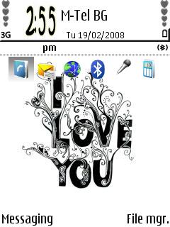 I Love U theme
