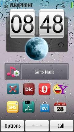 -i White Os4 Symbian