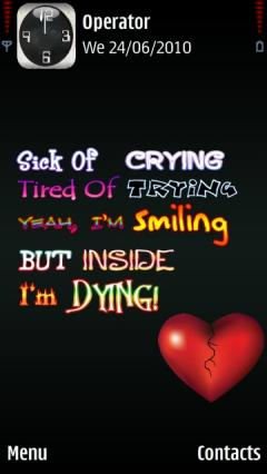 im dying