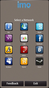 imo instant messenger for Symbian for Nokia N8-00 (Nokia
