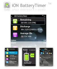 iON BatteryTimer for S60 3rd