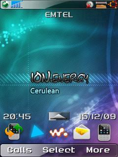 Ion Energy Cerulean