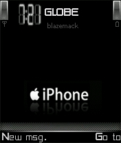 Iphone Black V8