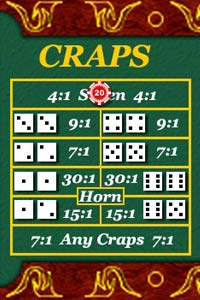 Way to play craps