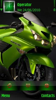 Kawasaki Green Bike