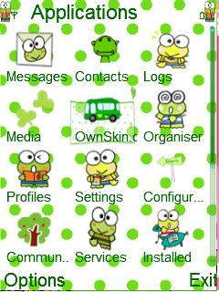 Keroppi for Nokia E63 Free Download in Cartoons Tag