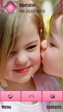 Kissing Babies Cute