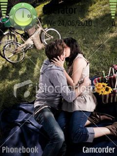 Kissing Picture