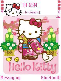 Kitty In Gimono