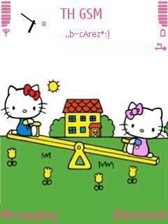 Kitty In Playground