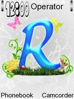 Letter R Word For Nokia E75 Free Download In Themes Wallpapers