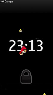 Lock Screen Angry Birds Edition