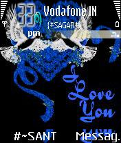 Lovely Blue Heart
