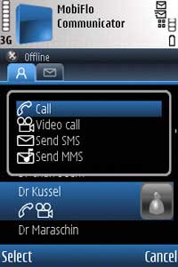 MobiFlo VoIP software for Nokia