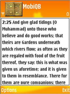 Quran Browser