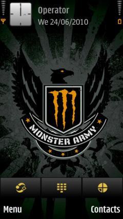 Monster Army Orange