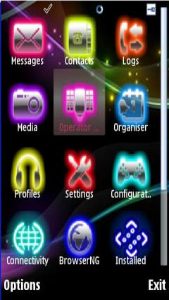 Music Glow Icons
