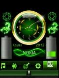 NEON NOKIA BATTERY  CLOCK