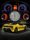 NEW NOKIA CAR CLOCK