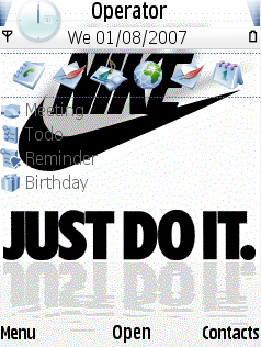 Nike theme