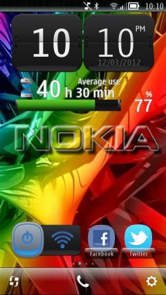 Nokia 3d Colors 2012
