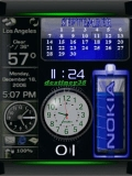 nokia clock animatin