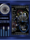 nokia clock animation