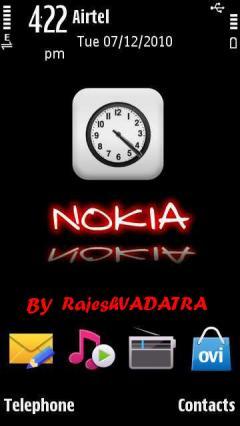 Nokia Clock Dekstop