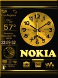 Nokia Clock with Menu