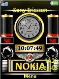 nokia clock.....