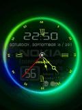 Nokia Colorful Clock..