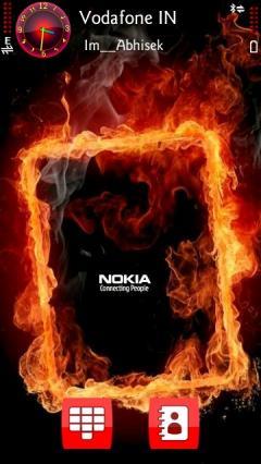 Nokia Fire Frame