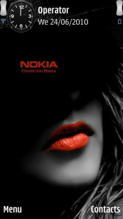 Nokia Red Lips
