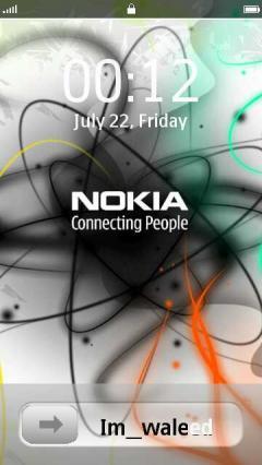Nokia Slid Lock