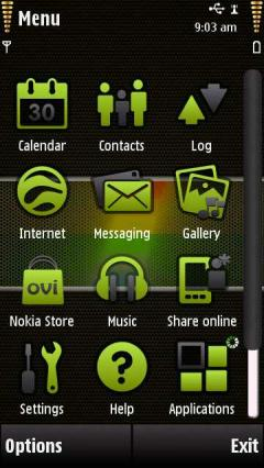 Nokia With Icons
