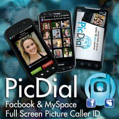 PicDial Social Pic CallerID