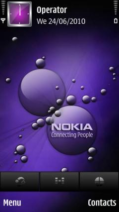 Purple Nokia