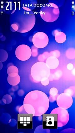 Purple Orbs Theme