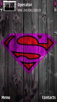 Purple Superman