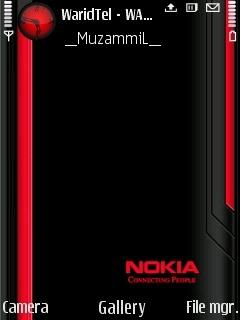 Red Black Nokia