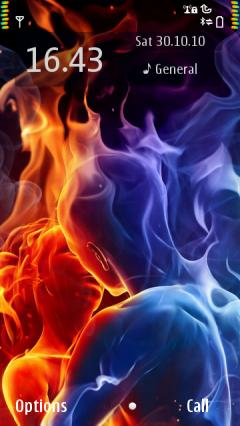 Red Blue Fire