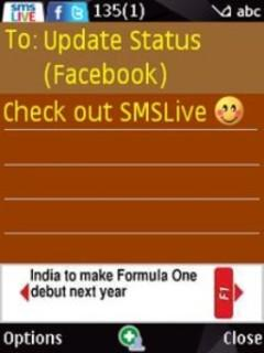 SMSLive for Vodafone, Aircel, BSNL & Others