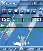XSound Theme - Ice Theme
