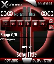 XSound Theme - The Red theme