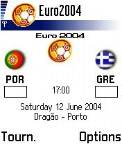Euro2004 Planner