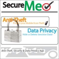 SecureMe Anti Theft Security Data Privacy S60