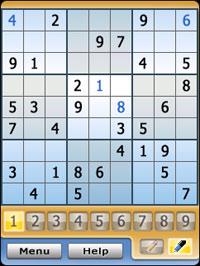 Sensible Sudoku for UIQ