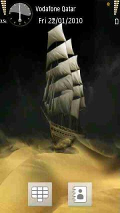 Ship On Sand