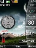 Sidebar Clock