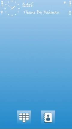 Simple Blue Theme